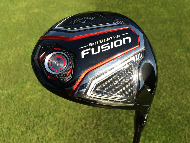 Callaway Big Bertha Fusion driver review - Golf Monthly