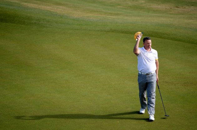 Olympics Golf Day Two