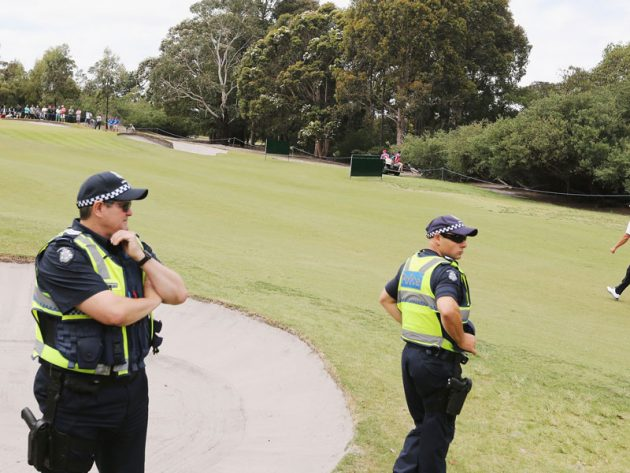 Man stabbed on golf course
