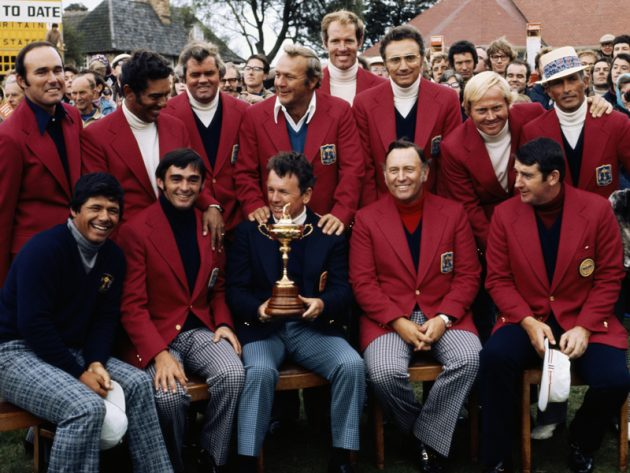 Arnold Palmer and 1973 US Ryder Cup team