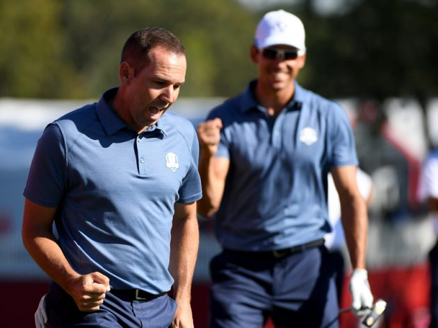 Ryder Cup Day 1 report
