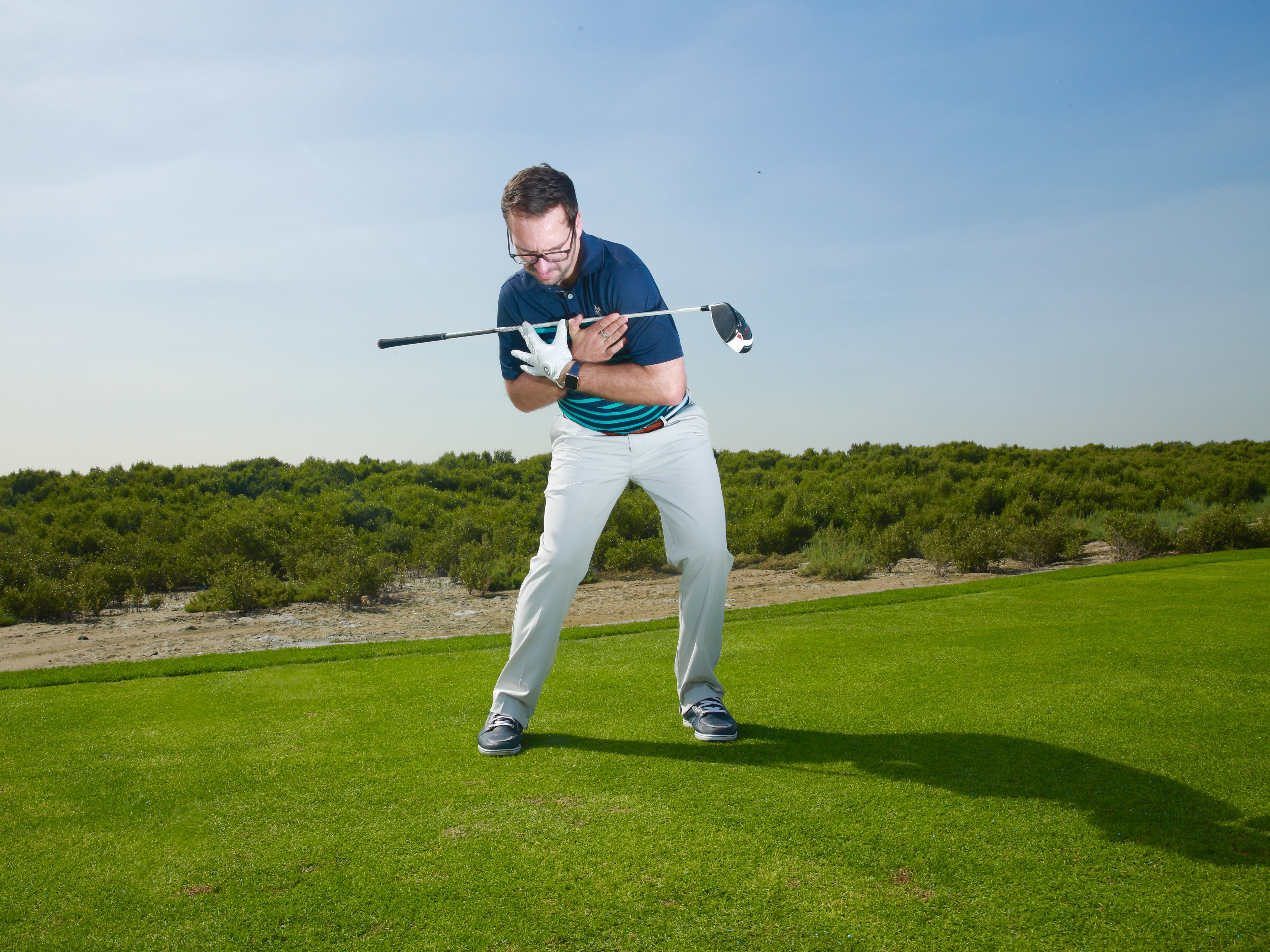 Lack of power off the tee and how to remedy it…