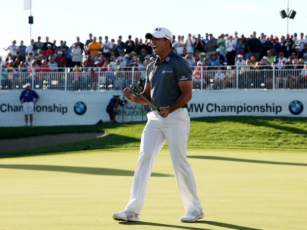 Jason Day defends BMW Championship