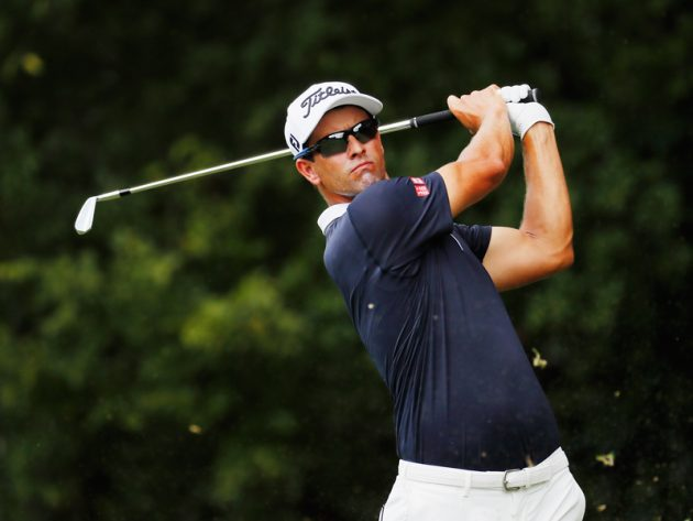 Adam Scott plays CIMB Classic
