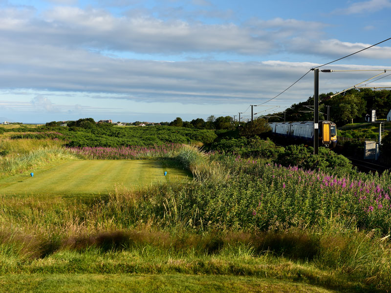 Best Golf Courses Along Train Lines