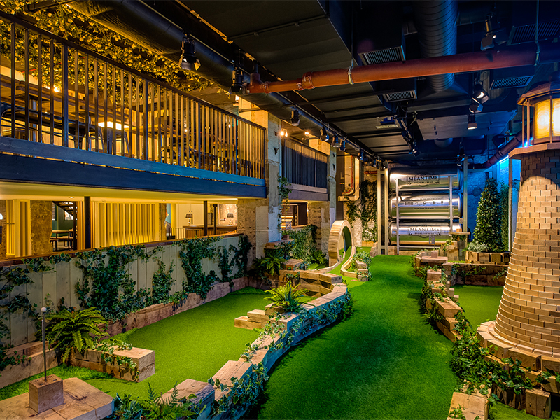 Swingers Crazy Golf And Socialising In The City Of London