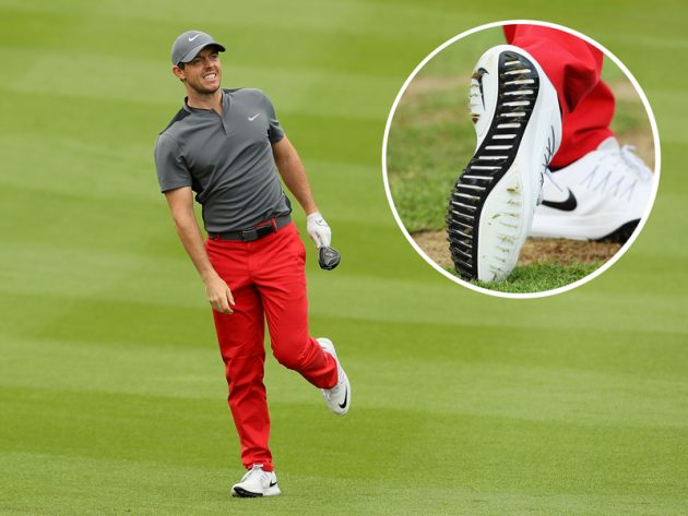 9e23a3ec2b1d Nike Lunar Control Vapor Shoes. Rory McIlroy wearing the new ...