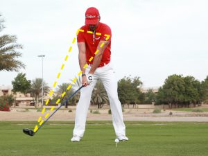 What is a one-piece takeaway in golf?