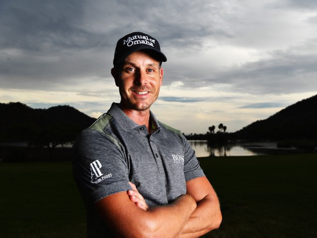 Henrik Stenson leads Race to Dubai