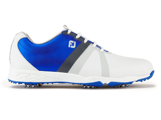 Image result for footjoy energise shoes WHITE BLUE
