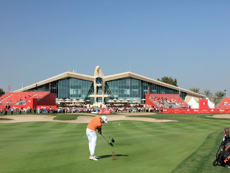 Rickie Fowler Defends Abu Dhabi Golf Championship