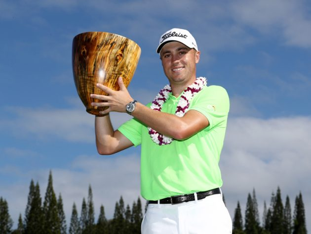 Justin Thomas wins SBS Tournament of Champions