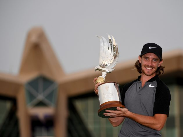 The Rise Of Tommy Fleetwood Tommy Fleetwood wins Abu Dhabi HSBC Championship