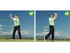 what is 'connection' in the golf swing