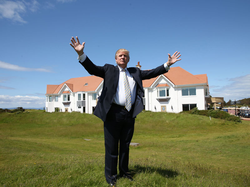 golf courses donald trump owns