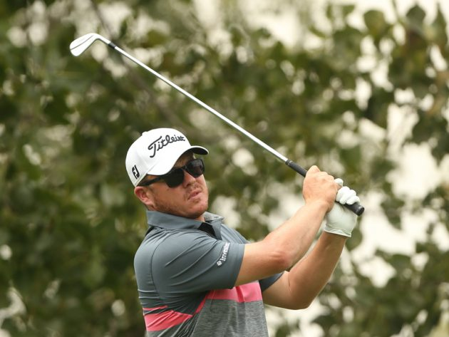 George Coetzee plays in Tshwane Open