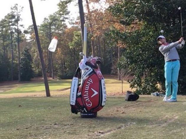 Bryan bros golf trick shots