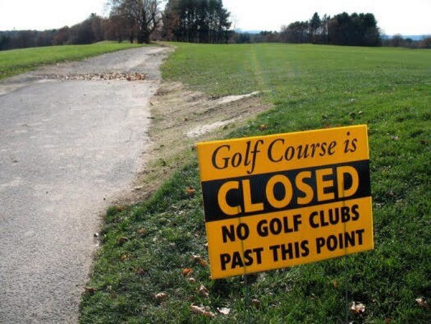 Things To Do When The Golf Course Is Closed