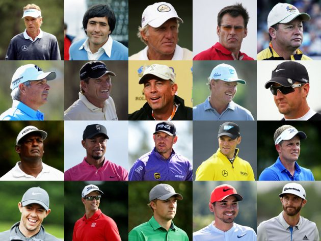 golf world number one