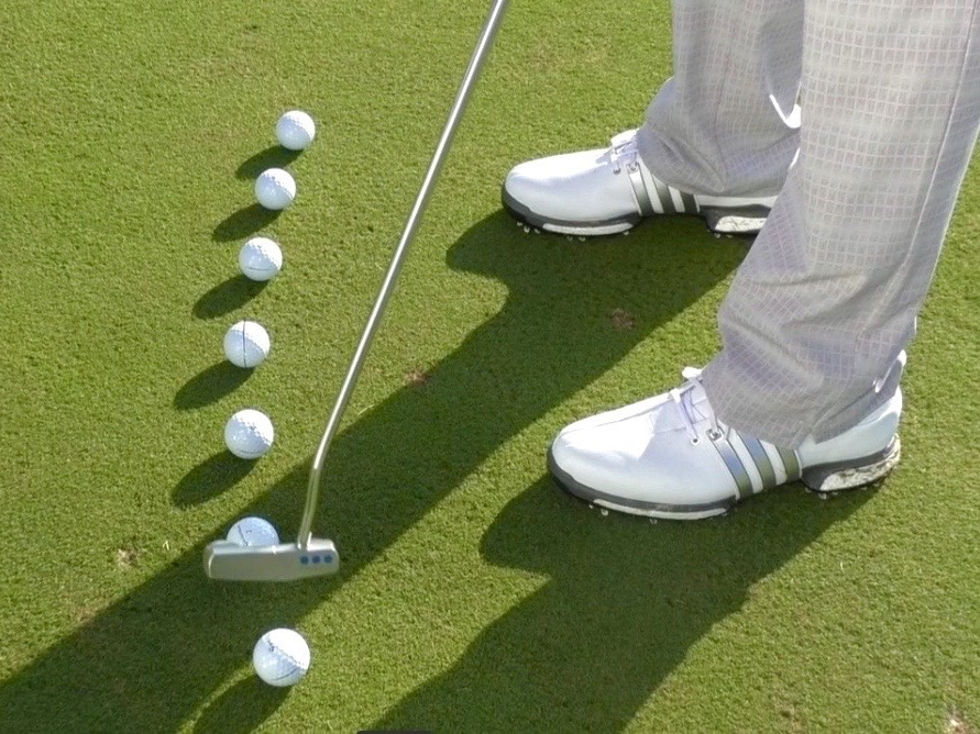 Putting Arc Drill Golf Monthly Top 25 Coach Putting Tip