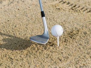 Tee Peg Bunker Drill For Golf