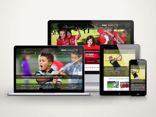 The Golf Foundation Launches New Website