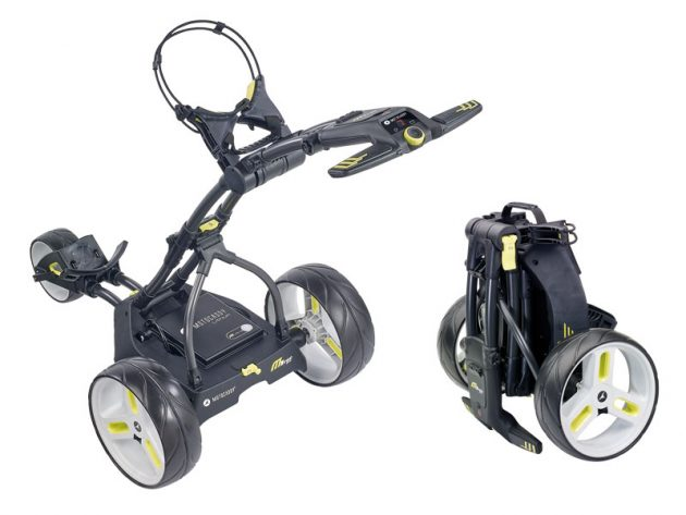 Motocaddy M1 DHC Electric Trolley Revealed