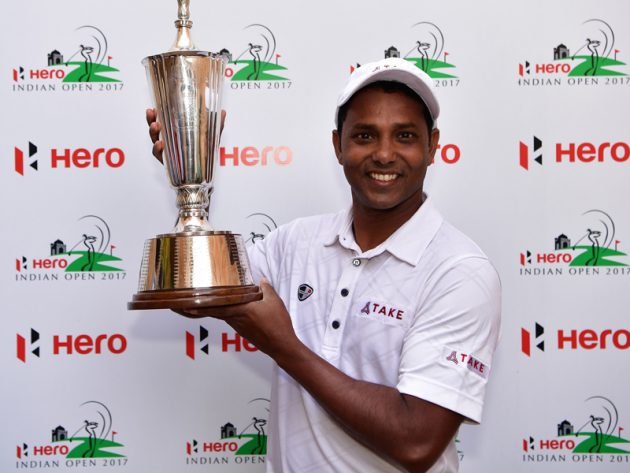 S.S.P Chawrasia successfully defends Hero Indian Open