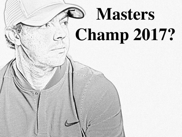 Will Rory McIlroy win the 2017 US Masters?