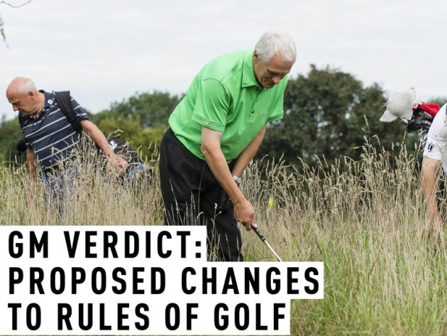 rules of golf changes for 2019