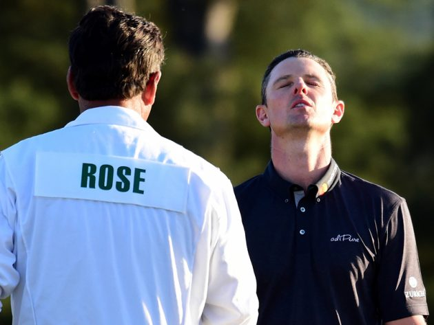 Did Justin Rose throw it away?