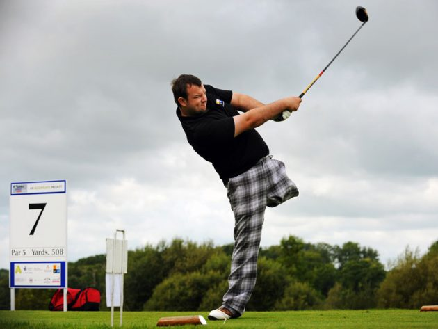 GM Meets Chris Foster: The Inspirational One Legged Golf Pro