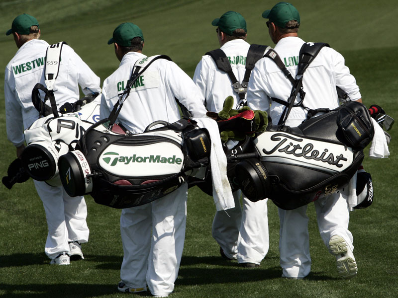 Why Do The Caddies Wear White Boiler Suits At The Masters?