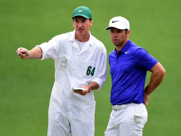 English Hopefuls At Augusta
