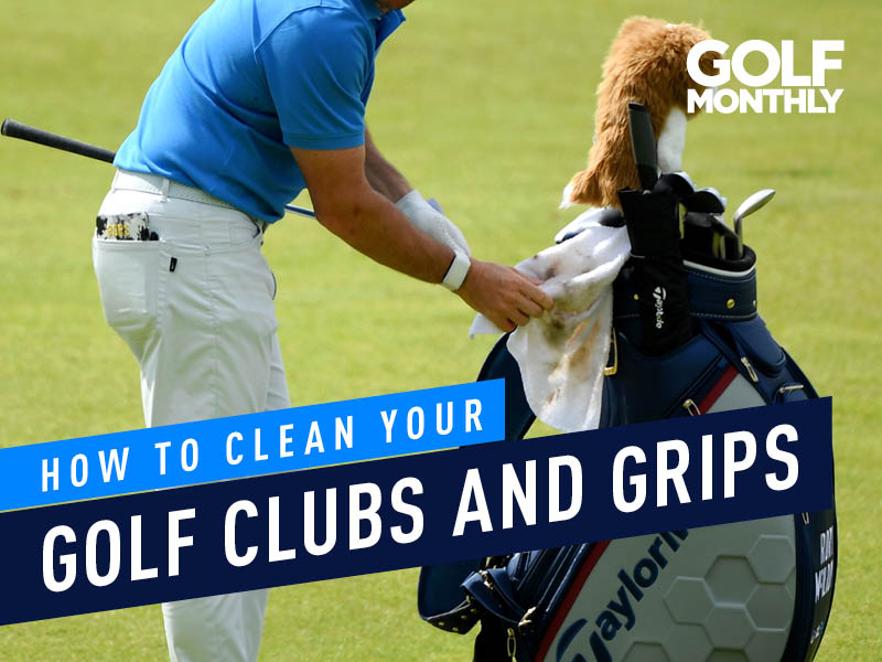 How To Clean Your Golf Clubs And Grips Golf Monthly