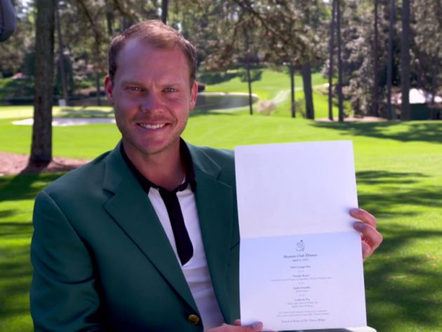 Danny Willett To Serve Traditional Sunday Roast At Champion's Dinner