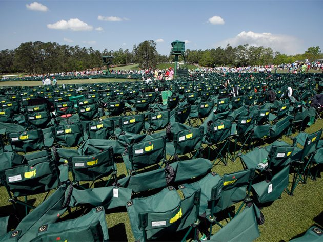 10 things you can't do at Augusta National