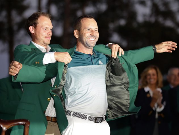 Garcia's Masters Triumph Proves Spirit Of Seve Lives On BT Sport Set To Take 2018 Masters