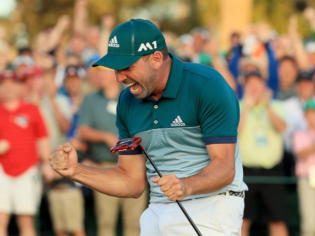Sergio Garcia wins first Major