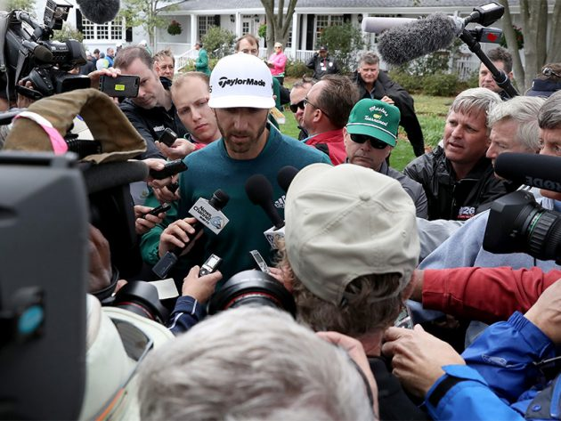 Dustin Johnson out of Masters with back injury