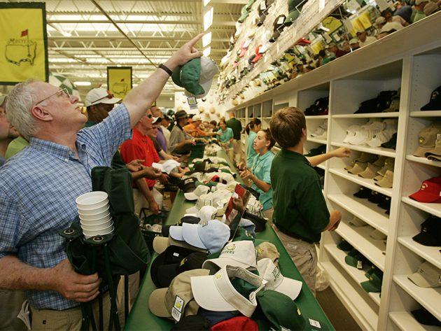 Inside Augusta National's Merchandise Pavilion