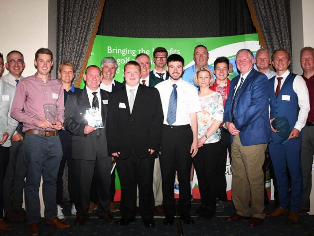 Golf Foundation Presidents' Awards Winners 2017