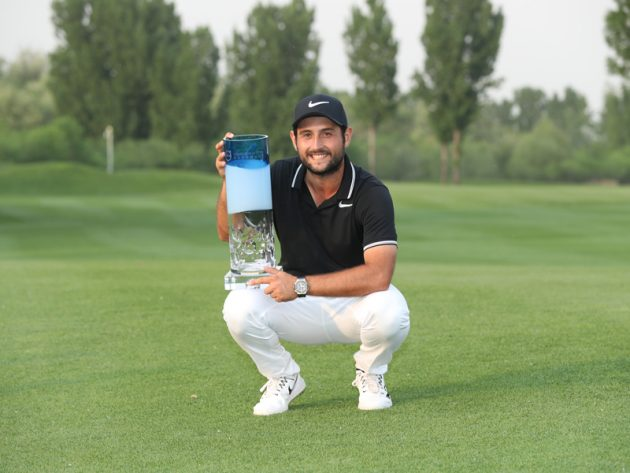 Alexander Levy wins Volvo China Open golfsixes format