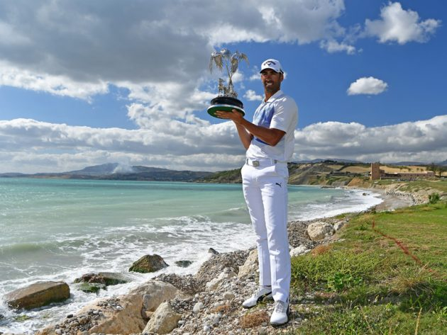 Alvaro Quiros wins The Rocco Forte Open