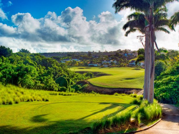 golf in barbados