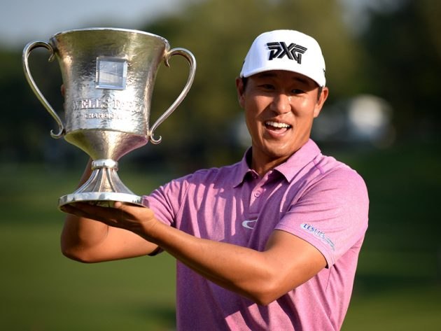 James Hahn defends Wells Fargo Championship