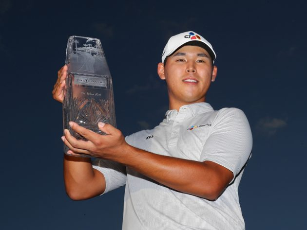 Si Woo Kim becomes youngest ever Players Champion