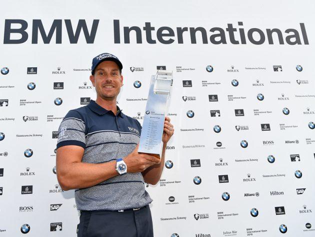Henrik Stenson defends BMW International Open