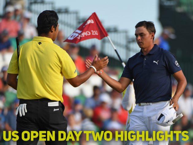 us open golf highlights
