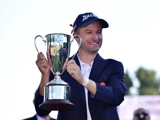 Russell Knox defends Travelers Championship